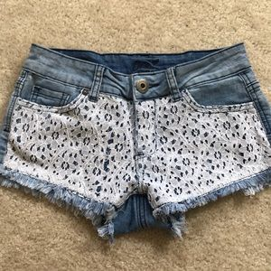 Other - small distressed jean shorts